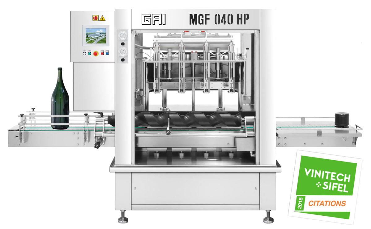 embouteilleuse grand format mgf gai