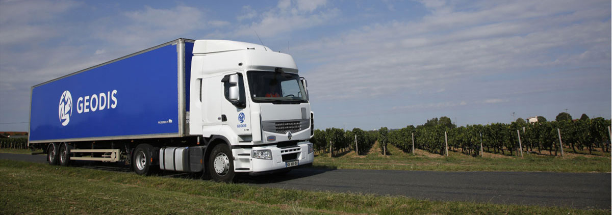 Distribution Transports expedition Vin France International Geodis