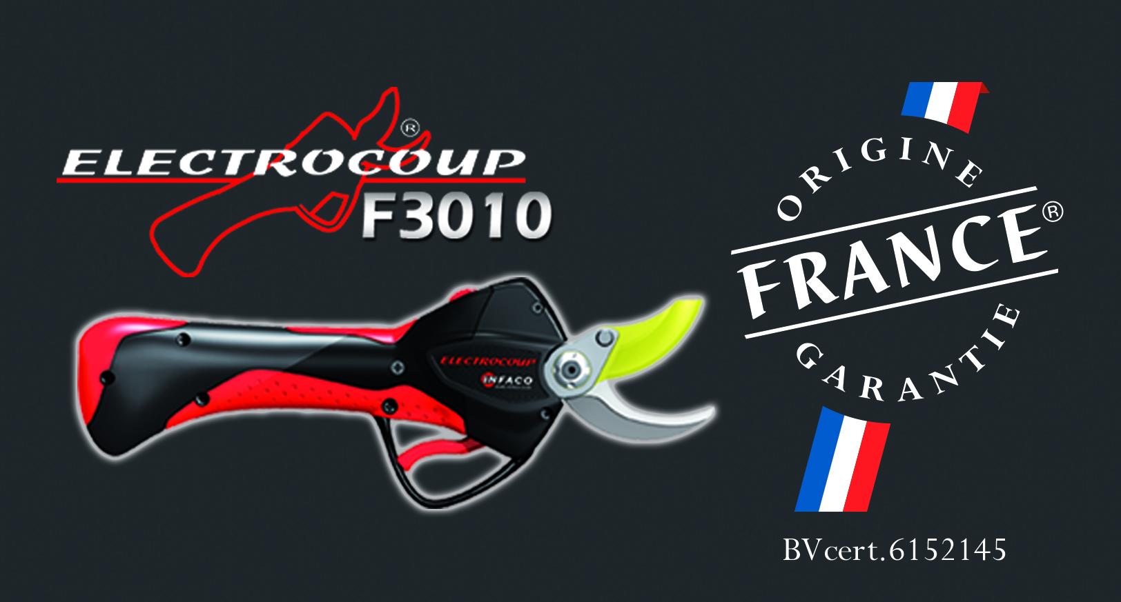 Le sécateur ELECTROCOUP F3010 obtient le label « ORIGINE ...