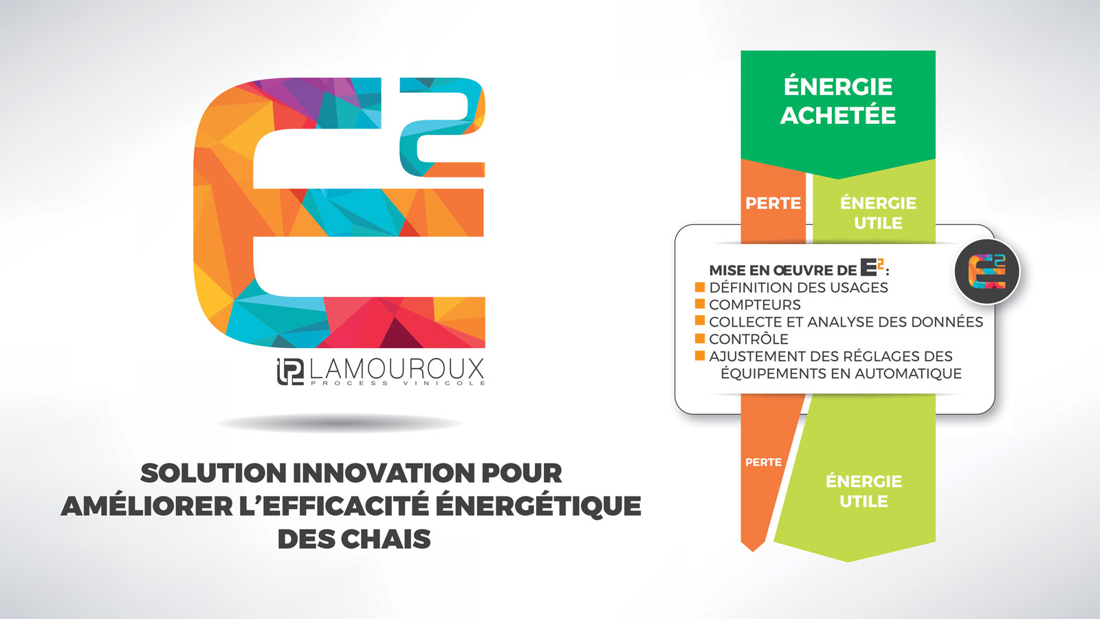 e2 lamouroux solution energetique chais vin