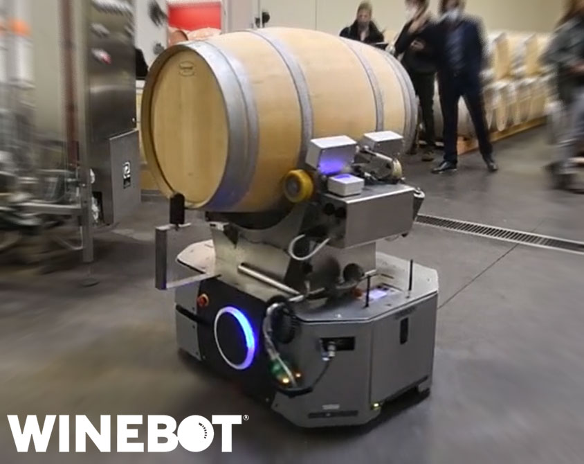 winebot robot chai vinification lamouroux