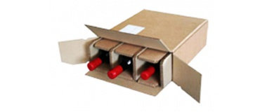 emballages carton pour bouteilles de vin. Black Bedroom Furniture Sets. Home Design Ideas